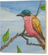 Bright Sentinal Wood Print