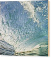 Bright Wave - Makena Wood Print