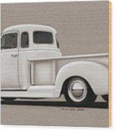 Bright White 3100 Degrees Wood Print by Paul Kim