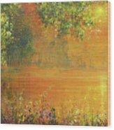 Brightest Spring Wood Print