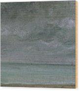 Brighton Beach Wood Print by John Constable