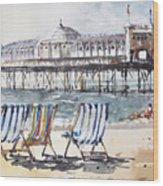 Brighton England Wood Print