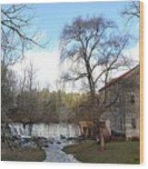 Brightwell's Mill 4 Wood Print