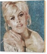 Brigitte Bardot, Actress Wood Print