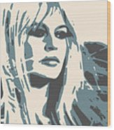 Brigitte Bardot Poster 2 Wood Print