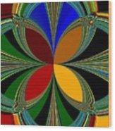 Brilliant Colors Wood Print