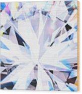 Brilliant Diamond  Wood Print