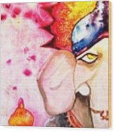 Brilliant Ganesh Wood Print