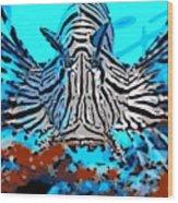 Brilliant Stripes Wood Print