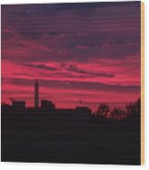 Brilliant Sunset 2 Wood Print