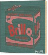 Brillo Box Colored 10 - Warhol Inspired Wood Print
