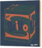 Brillo Box Colored 6 - Warhol Inspired Wood Print