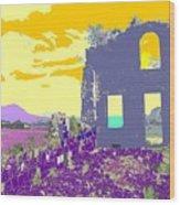 Brimstone Sunset Wood Print