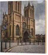 Bristol Cathedral Wood Print