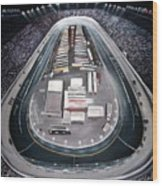 Bristol Motor Speedway Racing The Way It Ought To Be Wood Print