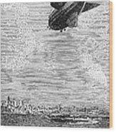 British Airship, 1919 Wood Print
