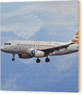 British Airways Airbus A319-131 Wood Print
