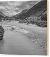 British Columbia White Pass Panorama Wood Print