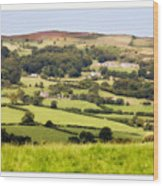 British Landscape Wood Print