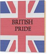 British Pride Wood Print