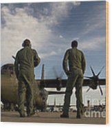 British Royal Air Force C-130j Wood Print