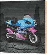 Britten V1000 1995 City Wood Print