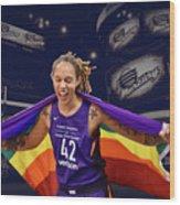 Brittney Griner Lgbt Pride 3 Wood Print