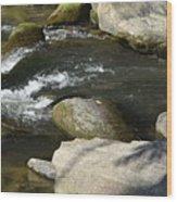 Broad River  Wood Print