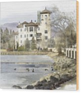 Broadmoor Hotel Wood Print