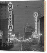 Broadway 1928 Wood Print