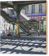 Broadway Bodega Wood Print