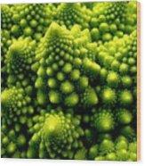 Broccoli Wood Print