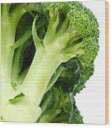 Broccoli Wood Print by Gaspar Avila
