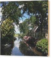 Broek In Waterland - 1 Wood Print