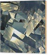 Broken Sky Wood Print