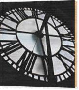 Bromo Seltzer Clock Wood Print
