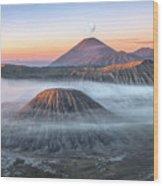 bromo tengger semeru national park - Java Wood Print