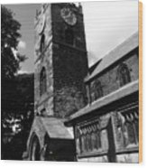 Bronty Church Wood Print