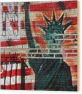 Bronx Graffiti - 4 Wood Print