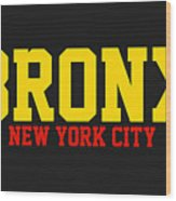 Bronx Wood Print