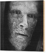 Bronze Face Wood Print