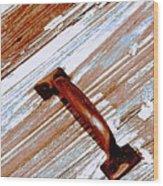 Bronze Handle Wood Print