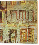 West Side Van Gogh Wood Print