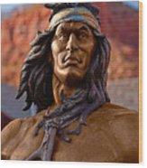 Bronze Native Wood Print