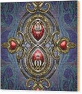 Brooch Wood Print