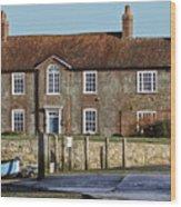 Brook House Bosham Wood Print