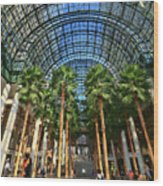 Brookfield Place Atrium - N Y C # 2 Wood Print