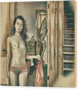 Brooklyn - Asian American Series Wood Print