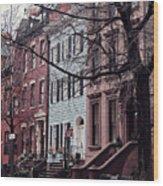 Brooklyn Wood Print by Benjamin Matthijs