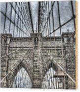 Brooklyn Bound Wood Print